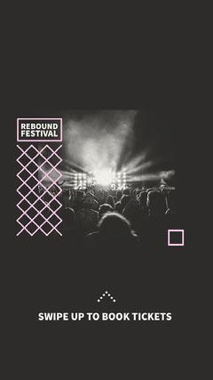 Rebound festival Instagram Story Festival