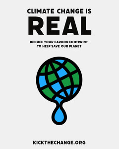 Melting Earth Illustration Climate Change Instagram Portrait Climate Change Posters