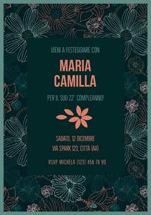 Maria Camilla  Invito