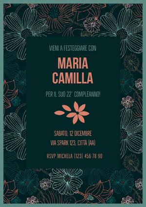 Maria Camilla  Invito a una festa