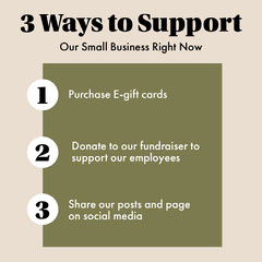 Ways To Support Our Small Business Business