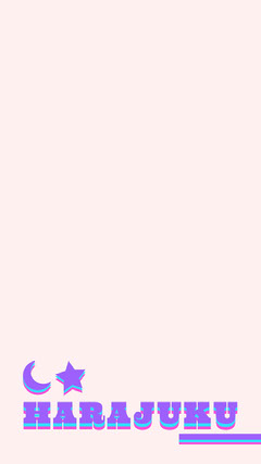 Light Toned, Purple and Pink, Harajuku Snapchat Geofilter Story Japan