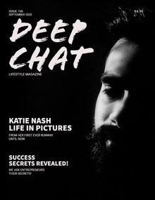 DEEP<BR>CHAT Magazine Cover