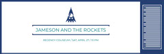 Jameson and the rockets  Concert Ticket