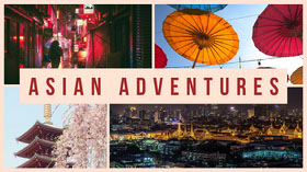 asian adventures youtube channel art YouTube Banner