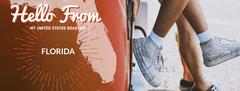 Light Toned Florida Travel Ad Facebook Banner Hello