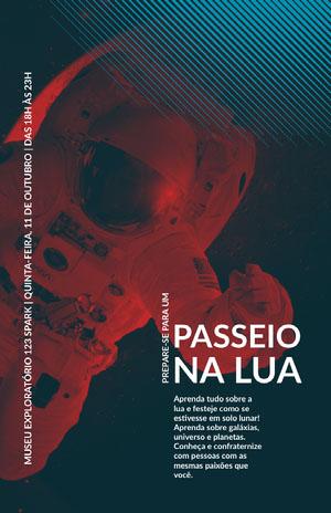 exploratory museum event poster Pôster de evento