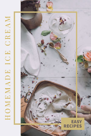 White and Yellow, Light Toned, Homemade Ice Cream Tips, Pinterest Post Colaboração Remota de Design