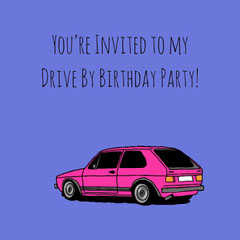 birthday meme instagram  Car