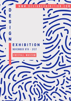 Design Exhibition Flyer  Exhibition