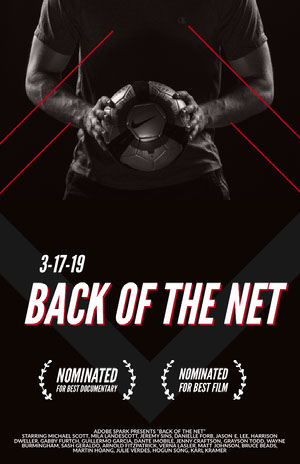 Back of the net 電影海報