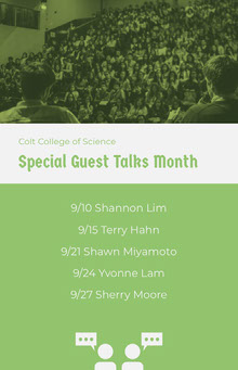 Special Guest Talks Month School Posters