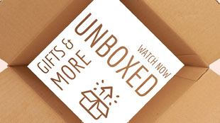 White and Brown Unboxed Banner Youtube 橫幅