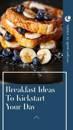 Breakfast Ideas Instagram Story Breakfast