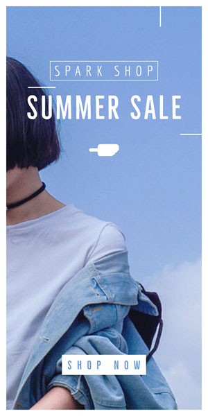 SUMMER SALE Advertisement Flyer