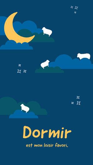 counting sheep iPhone wallpapers Fond d'écran d'ordinateur