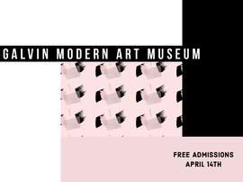 Galvin Modern Art Museum  Postcard