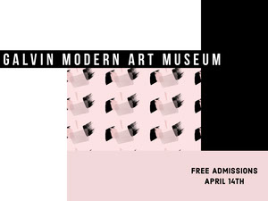 Galvin Modern Art Museum  Ansichtkaart
