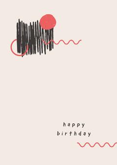 happy<BR>birthday Birthday