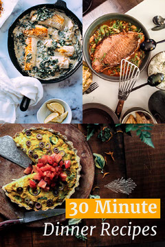 30 Minute Dinner Recipes Cooking