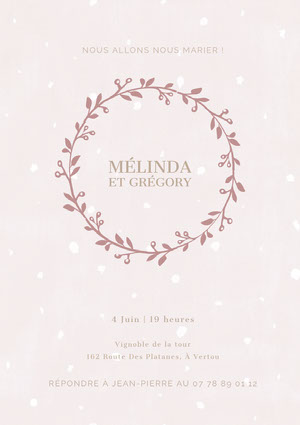 light purple wedding invitations  Invitation de mariage