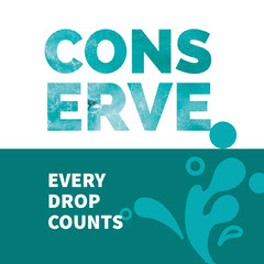 cons<BR>erve Water