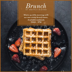 Black Brunch Waffles Bistro Igsquare  Brunch
