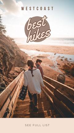 best hikes Instagram Story