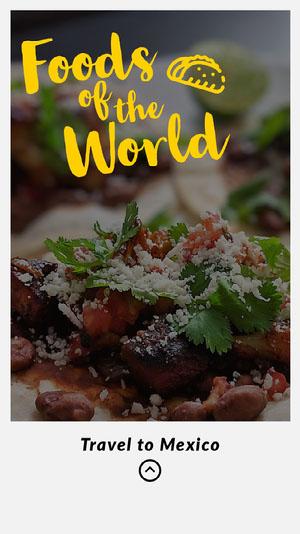 Mexican food Instagram Story  Reklameflyer