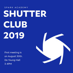 SHUTTER<BR>CLUB<BR>2019 Photography
