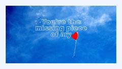 Piece of Heart Desktop Wallpaper Balloon