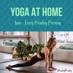 Yoga at home - Instagram Post Exercises