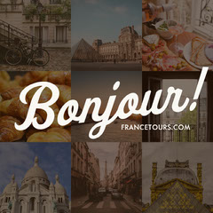 France Travel and Tourism Instagram Square Ad with Collage France