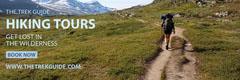 Light Toned Hiking Tour Ad Facebook Banner Landscape