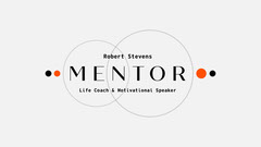black orange white life coach motivation circles blog banner  Speaker