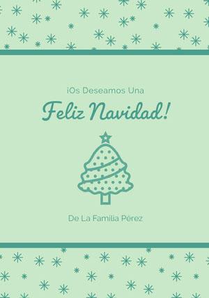 Feliz Navidad! Tarjeta de Navidad