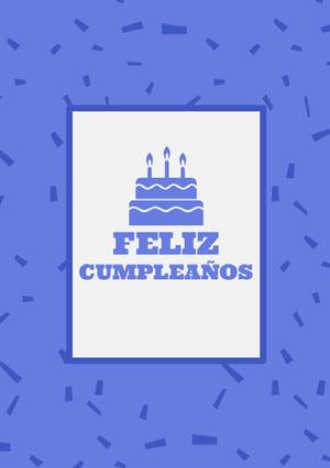 purple birthday cards  Tarjeta de cumpleaños