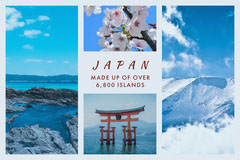 White With Japan Views Social Post Japan
