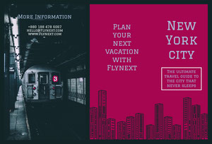 New York city Brochure