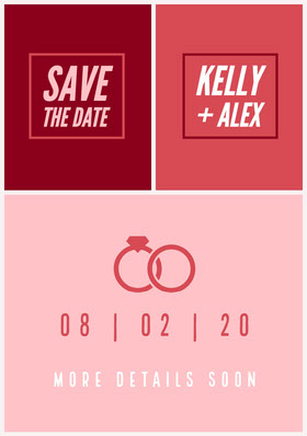 save the date Save the Date Card