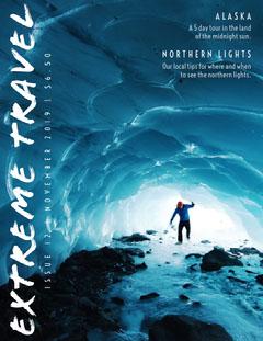 Adventure Travel Magazine Cover Ice Creams