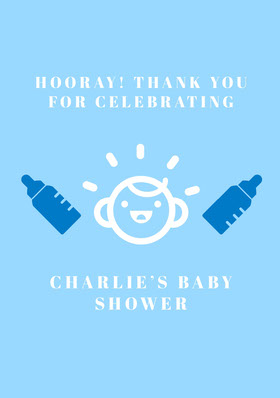 CHARLIE'S BABY SHOWER