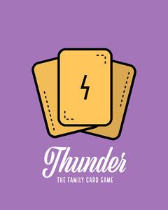 Thunder Card Game Instagram Portrait Purple