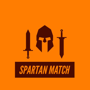 SPARTAN MATCH Game Logo
