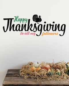 Happy Thanksgiving Followers Instagram Portrait Thanksgiving