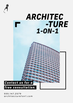 Architecture 1-on-1 Flyer Architecture