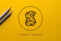 business card Yellow