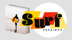 Multicoloured Surf Sessions Youtube Channel Art Ocean