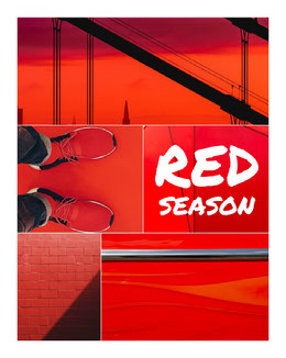 Red Photos Season Collage Fotocollage