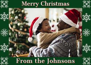Christmas Photo Frame Christmas Card Photo